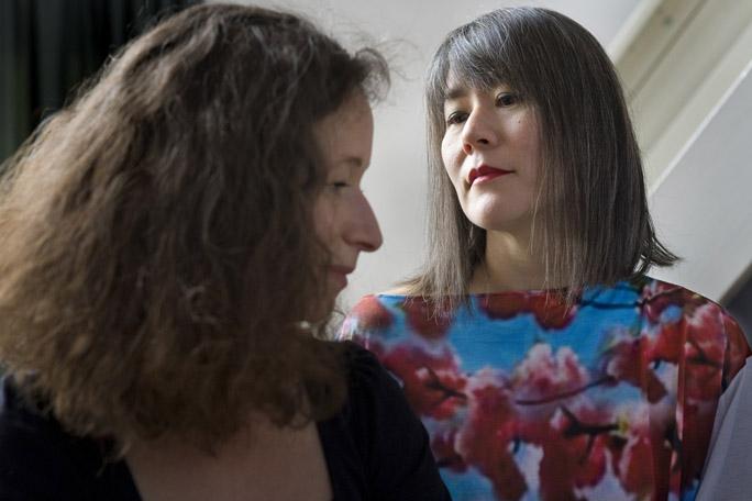 Aliona van der Horst and Tomoko Mukaiyama