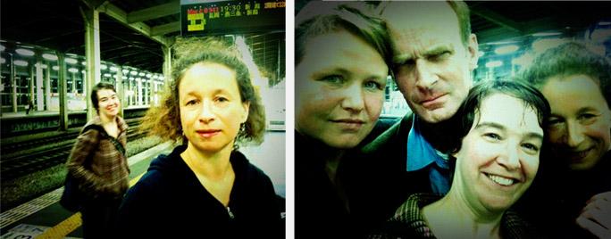 tolk Judith de Weert (l) regie Aliona van der Horst (r) | vlnr: Maasja Ooms, Rick Meier, Judith de Weert, Aliona van der Horst